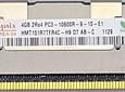 Memoria Ram 4gb / PC3 - 10600R DDR3 - 1333Mhz / HP Server / Ecc Registered / 500203-061