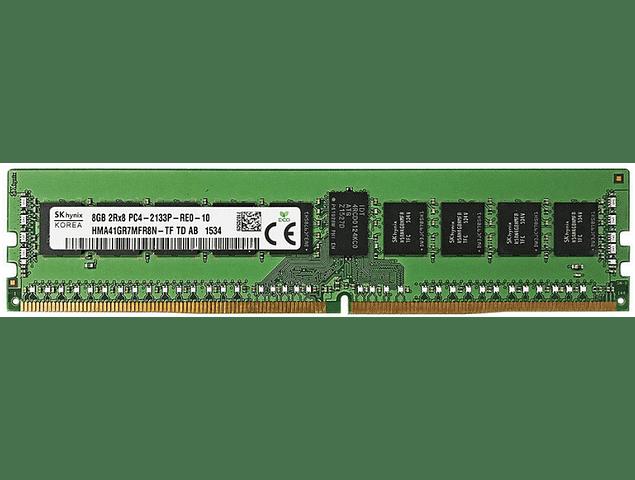 Memoria Ram 8gb / PC4 - 17000R PC4 - 2133P DDR4 - 2133Mhz / HP Server / Ecc Registered / 288pin