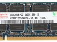 Memoria Ram 2gb / 2Rx8 PC2-6400S DDR2-800mhz / SODDIM