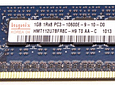 Memoria Ram 1gb / 1Rx8 PC3 - 10600E DDR3 - 1333Mhz / Ecc unbuffered / HP Server G6 G7 / 500208-562