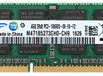 Memoria Ram 4gb / PC3-10600S SODIMM DDR3-1333mhz 204 pin Notebook