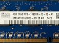 Memoria Ram 4gb / PC3 - 14900R DDR3 - 1866Mhz / HP Server / Ecc Registered