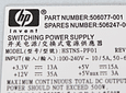 Fuente de poder Hp 506247-001 DL160 G6 500W Power Supply 506077-001, 515915-B21