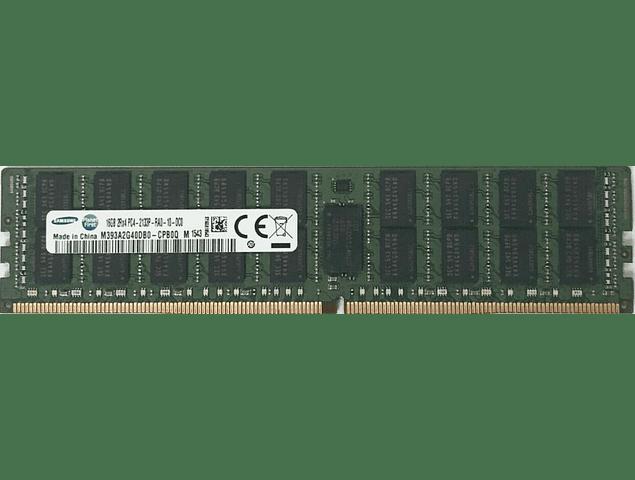(A Pedido) Memoria Ram 16gb / 2Rx4 PC4 - 17000R PC4 - 2133P DDR4 - 2133Mhz / HP Server / Ecc Registered / 288pin