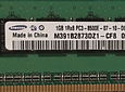 Memoria Ram 1gb / 1Rx8 PC3-8500E DDR3-1066Mhz / Ecc unbuffered / HP Server