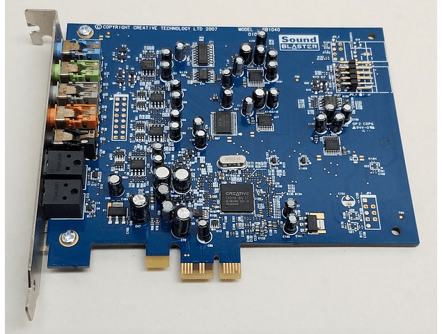 Tarjeta de Sonido Sound Blaster Creative SB1040 X-fi Xtreme Audio Pci-e 7.1
