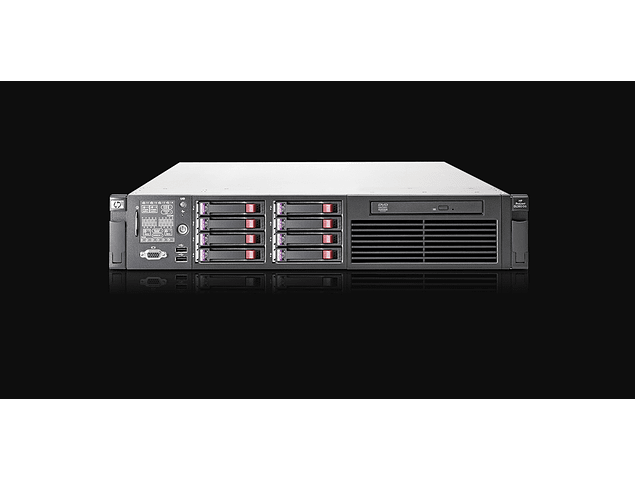 Servidor / HP Server / DL380 G6 Gen6 /2 x 300Gb HDD 10K SAS / 24Gb. RAM / 2 x Intelå Xeonå Processor X5650 (2.67 GHz, 12MB Cache) / 12-cores / Servidor Microsoft Linux HP / Virtualizar