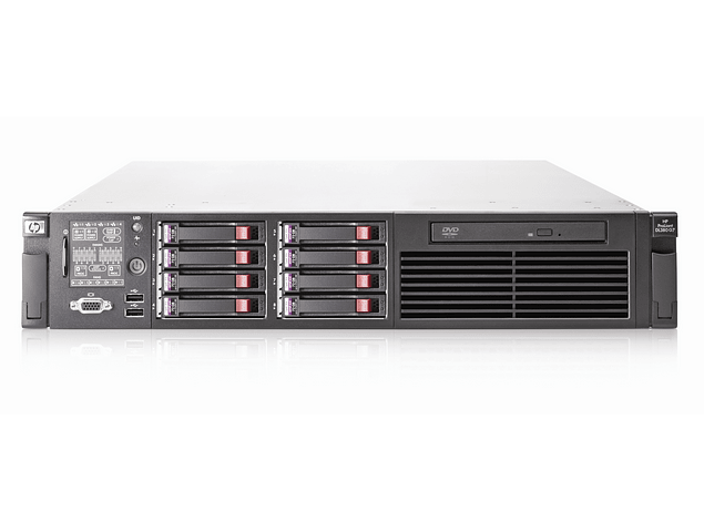 Servidor / HP Server / DL380 G7 Gen7 / 4 x 300Gb HDD SAS Raid 5 / 32Gb. RAM / 2 x Intelå Xeonå Processor X5670 (2.93 GHz, 12MB Cache) / 12-cores / Servidor Microsoft Linux HP