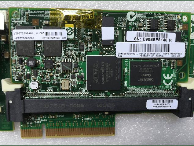 Bateria HP Controladora Smart Array  P410 512mb FBWC HP 572532-B21 con Bateria 571436-002