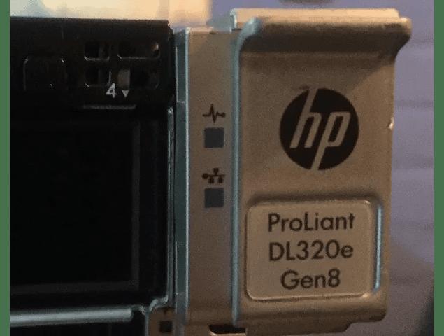 Servidor / HP Server / DL320e G8 Gen8 / 8gb. 1 x  600Gb 15K SAS HDD / Intelå XEONå E3-1220 v2 CPU @ 3.1GHz  / 4-core / Servidor Microsoft Linux HP