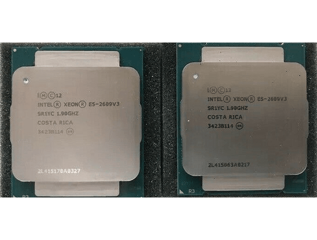 CPU Par Identico de Intel Xeon E5-2609 V3 SR1YC 1.9GHz 6-Core 85W Server CPU Processor
