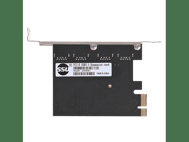 Tarjeta Usb 4 Ports 5gbps Pci-e To Usb 3.0 Nueva Para Windows 7 8 10 x32/64