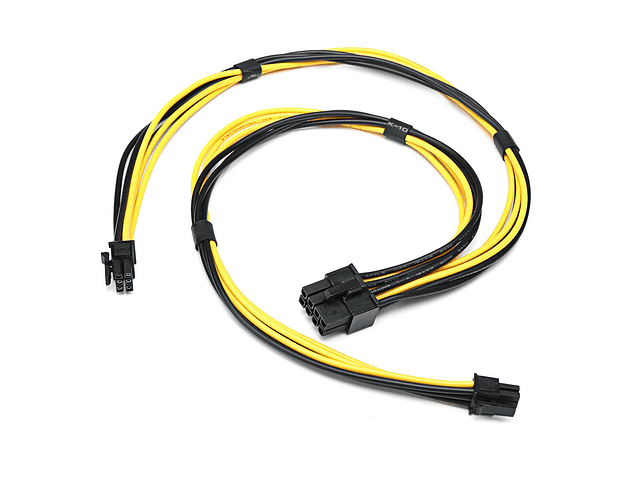 Tarjeta de Video Cable 2 x Mini 6 Pin To PCIE 8 Pin Cable de poder para tarjeta de video Apple MacPro 4.1 5.1 Metal Catalina