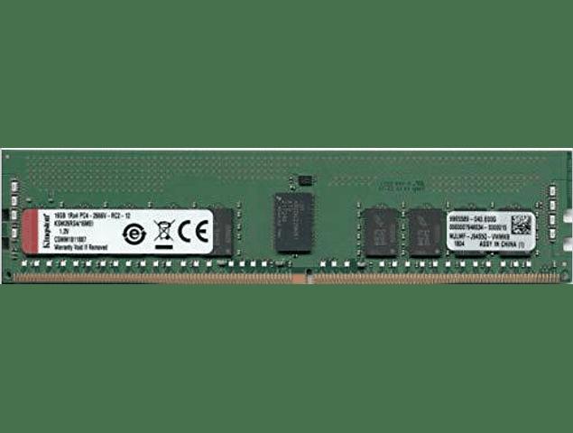 Memoria Ram 16gb / 1Rx4 / 2Rx8 / PC4 - 21300R / 2666V-R DDR4 - 2666Mhz / Ecc Registered Servidor / RDimm HP 868846-001 840756-091