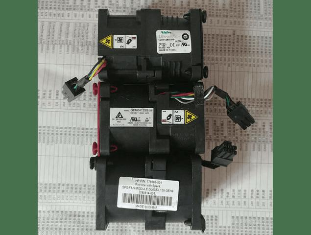 Kit ampliacion DL160 G9 Gen9 Un Disipador y 3 ventiladores 768753-001 779103-001 790514-001 778567-001 GFM0412SSS 768755-001 779104-001