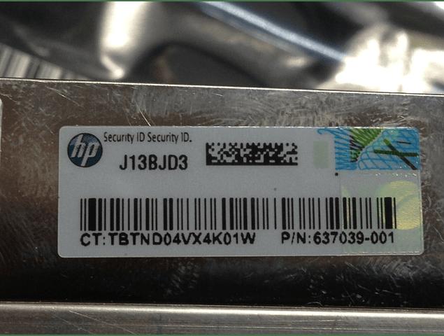 Disipador CPU HP DL120 G7 Heatsink _641817-001 646404-001 637039-001 644753-001