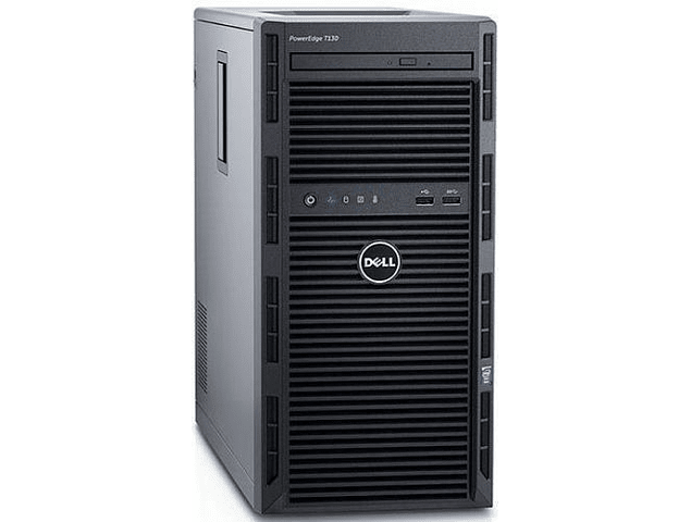 Servidor / Dell PowerEdge T130 / 8Gb Ram / Intel Xeon E3-1220 V6 3.0GHz / 900Gb SAS 10K