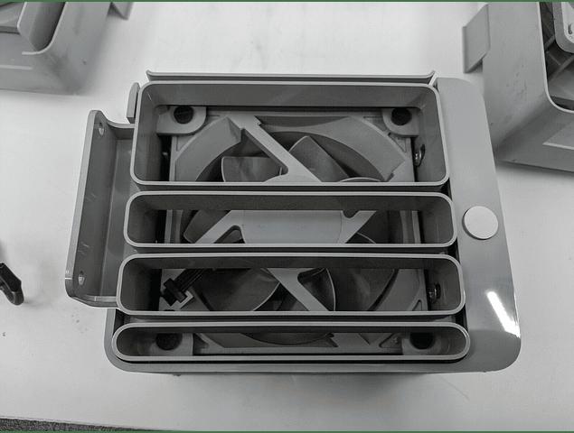 Ventilador Apple Mac Pro 4,1 5,1 2009 2010 2012 A1289 Tunel de Tarjetas PCi-e Macpro
