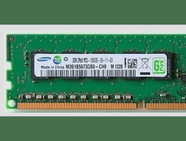 Memoria Ram 2gb / 1Rx8 PC3 - 10600E DDR3 - 1333Mhz / Ecc unbuffered / HP Server G6 G7 G8 / 500209-061