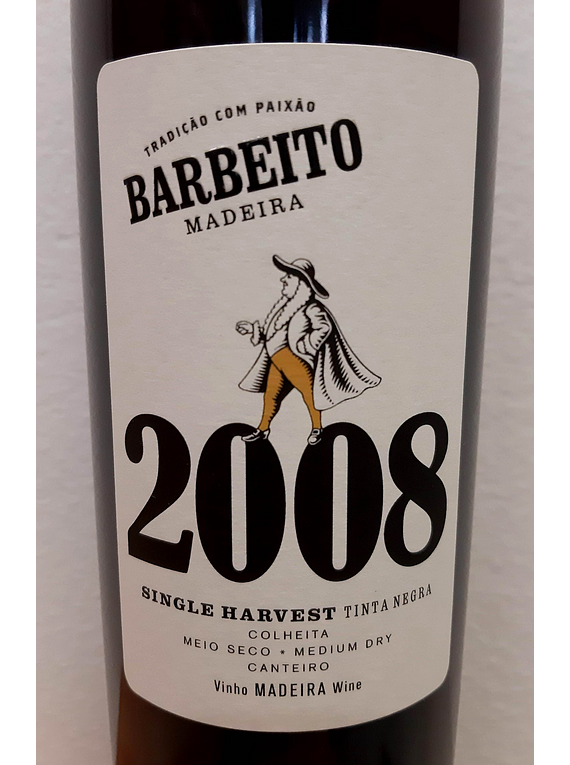 Madeira Barbeiro Single Harvest 2008