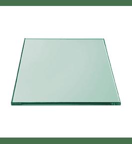 Cristal templado / Incoloro 4mm / Sobrecubierta