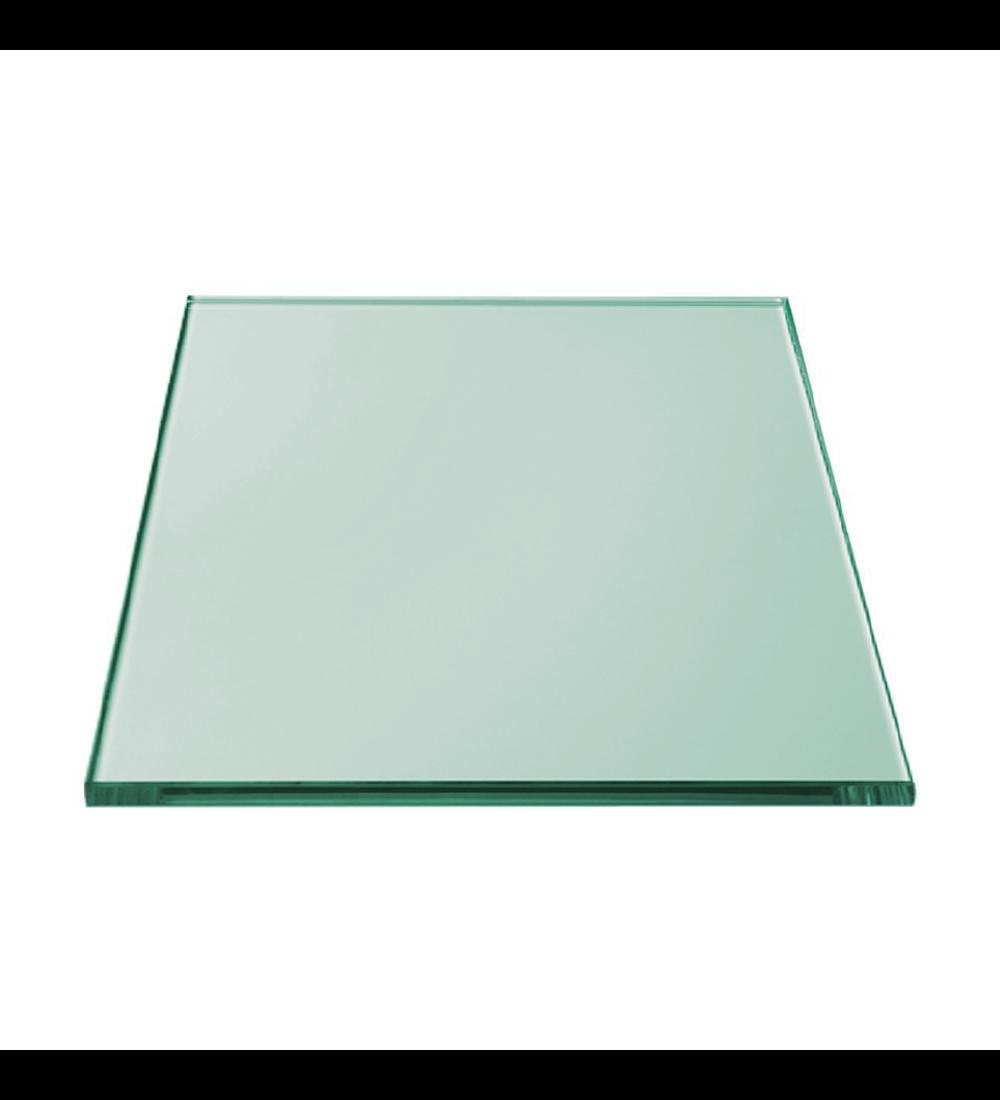 Cristal templado / Incoloro 4mm / mesas laterales