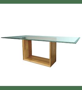 Mesa Comedor con base de Madera Modelo Ralún