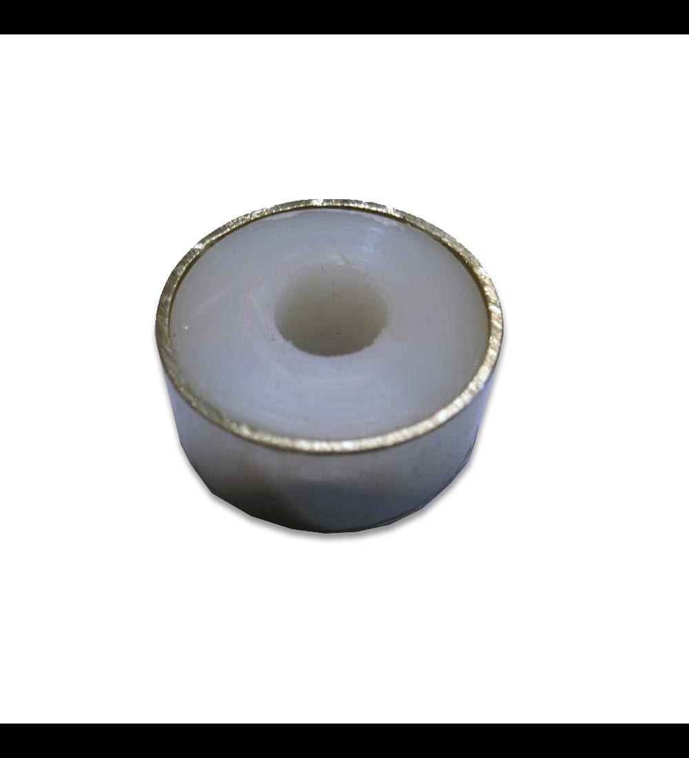 Herraje - Botón acero 304 (2502)