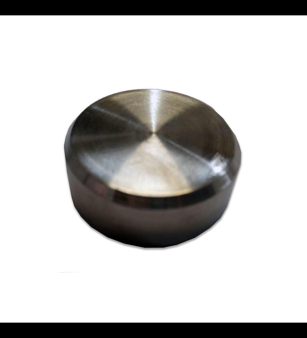 Herraje - Botón acero 304 (2501)
