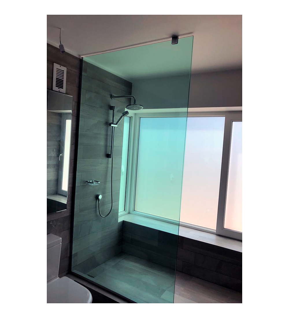 Cristal templado / Incoloro 10mm / mamparas ducha