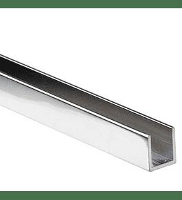 Herraje - Canal U aluminio