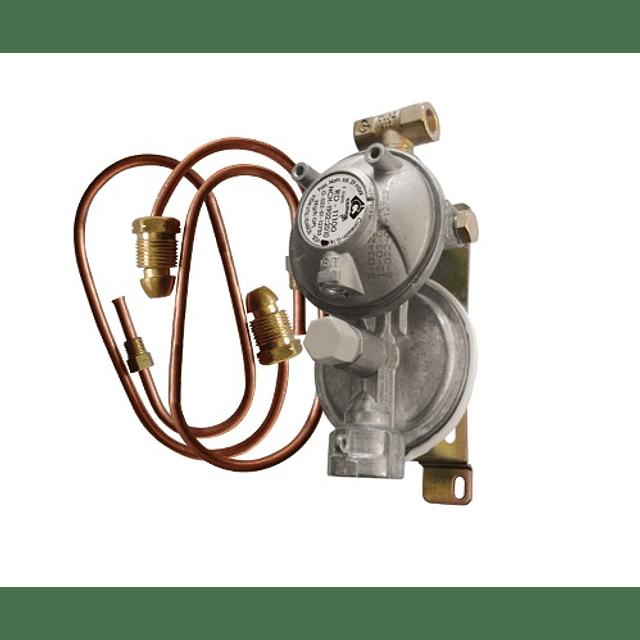 Kit Conexión Gas doble Balón 45 Kg