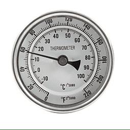 Termómetro Bimetálico INSTALADO en Olla (0-100)°C