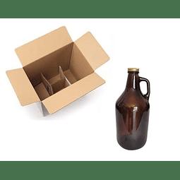 Growler 1,9 L + Tapa (caja x 12 unidades)