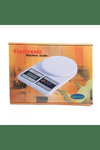 Balanza digital (7Kg sensibilidad 1g)