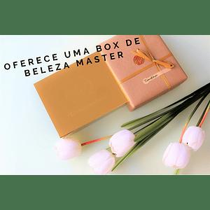 Oferece uma  Box de Beleza Mistério Master