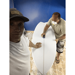 Surfboard Manufactured complete curse