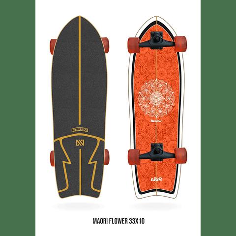NITRO SURF SKATE MAORI FLOWER - 31''