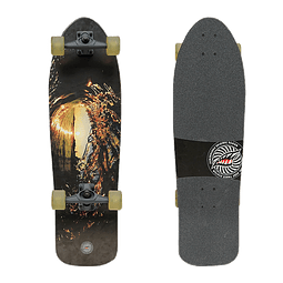 JAWSBOARDS NITRO SURFSKATE BLACK ROCK - 33,5''