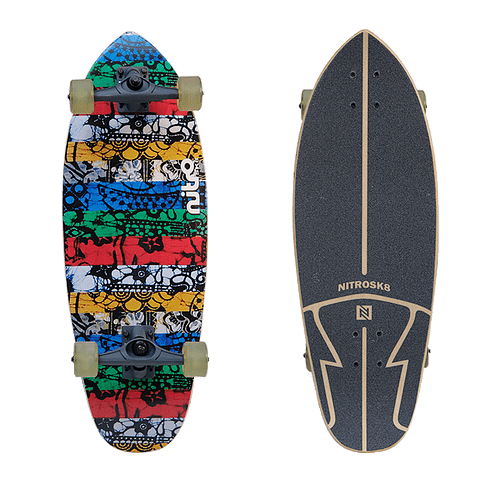 NITRO SURFSKATE BATIK - 29''