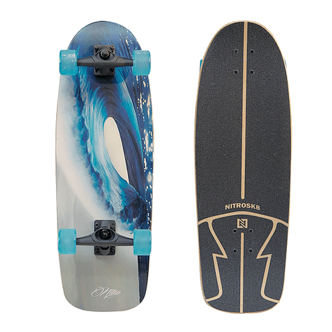 NITRO SURFSKATE WAVE ROUND - 30''