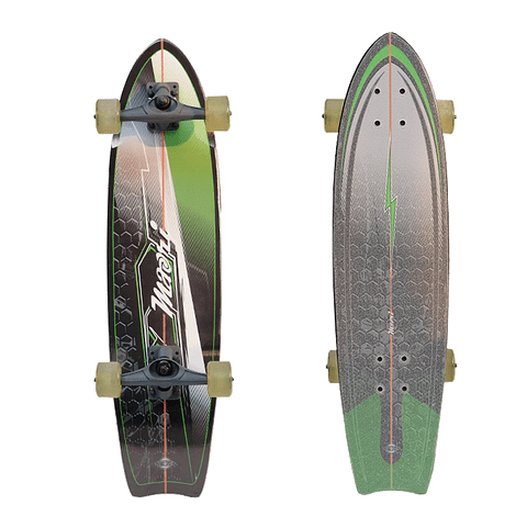NITRO SURFSKATE WAVE GREEN - 31''