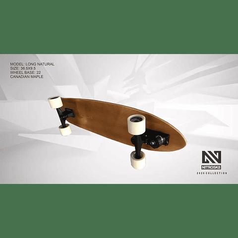 JAWSBOARDS NITRO SURFSKATE LONGBOARD - 36.5''