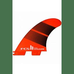 FCS II ACCELERATOR NEO GLASS TRI FINS