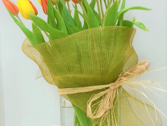 Florero 20 Tulipanes