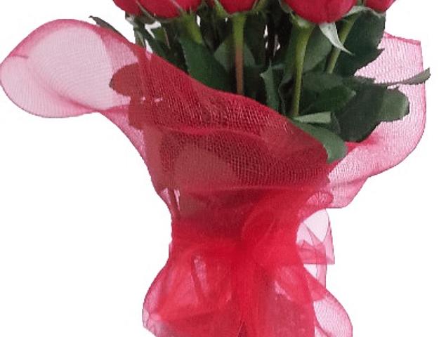 Florero 12 rosas