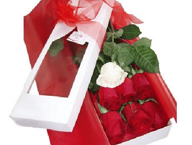 Caja 7 Rosas Ecuatorianas