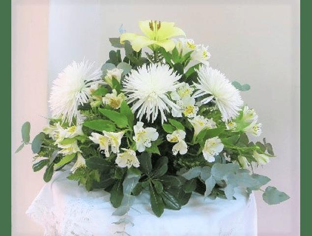 Cojín de Flores Mixto