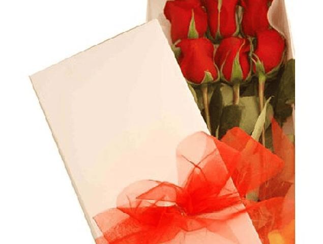 Caja de 6 Rosas Ecuatorianas