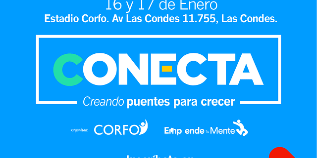 Evento CONECTA CORFO, Enero 2020